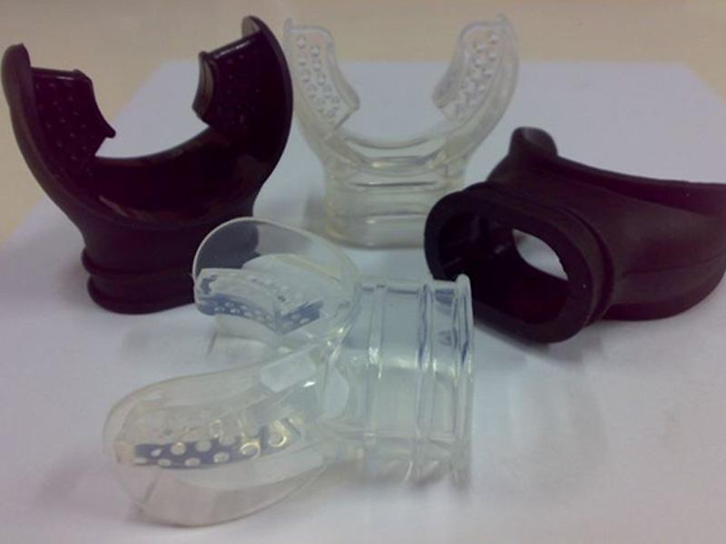 Liquid silicone mouthguard