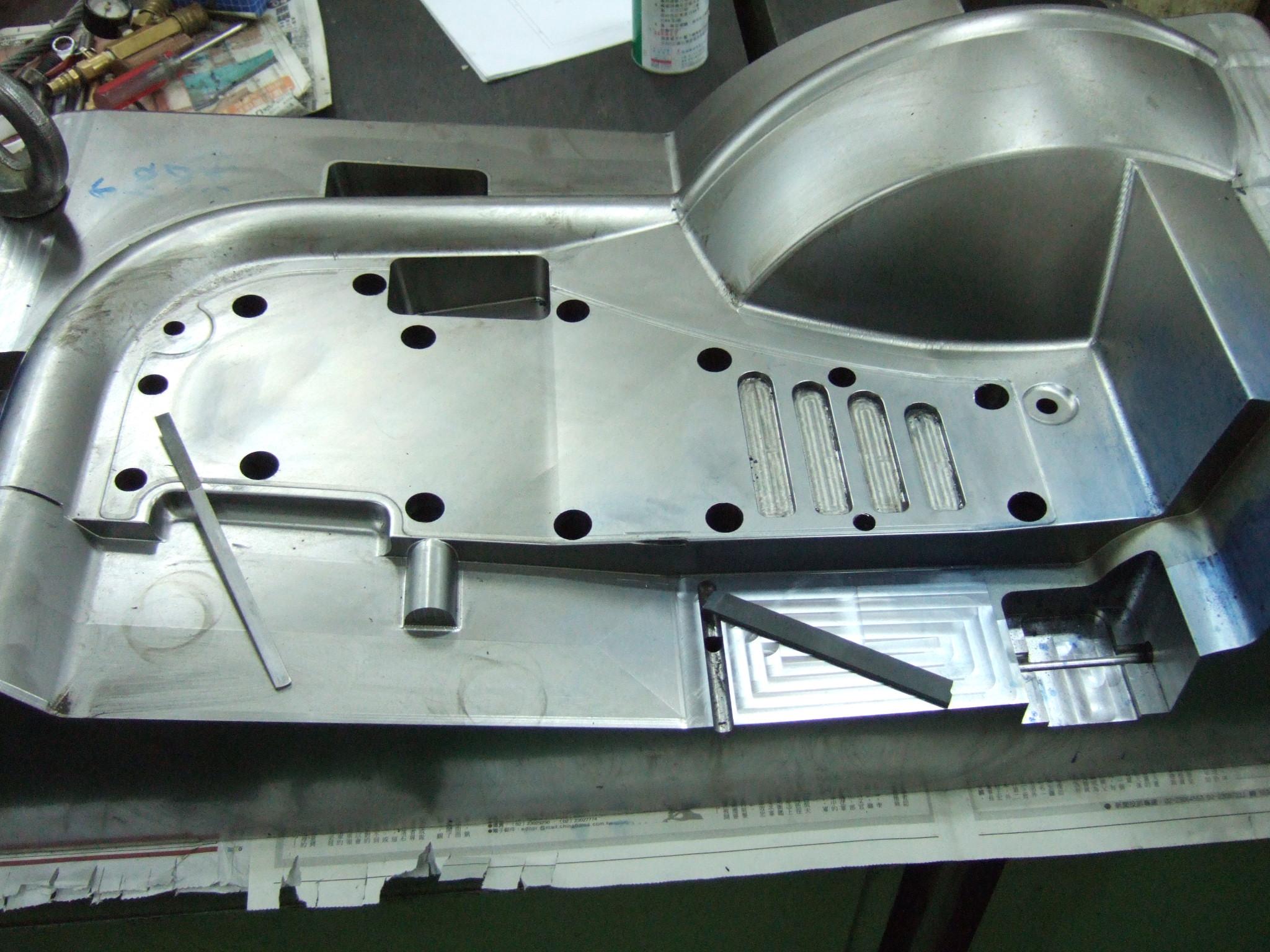 fan blade mold