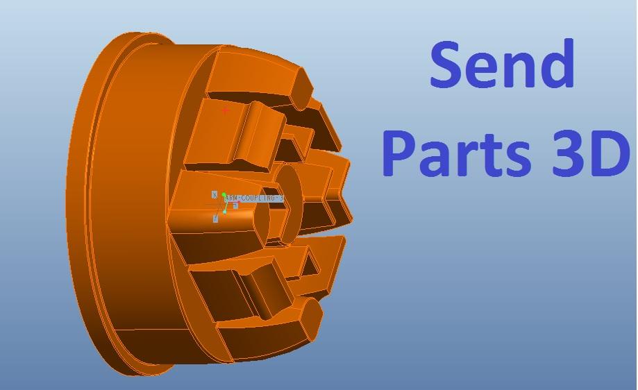 send parts 3D