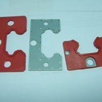 soft plastics with metal parts