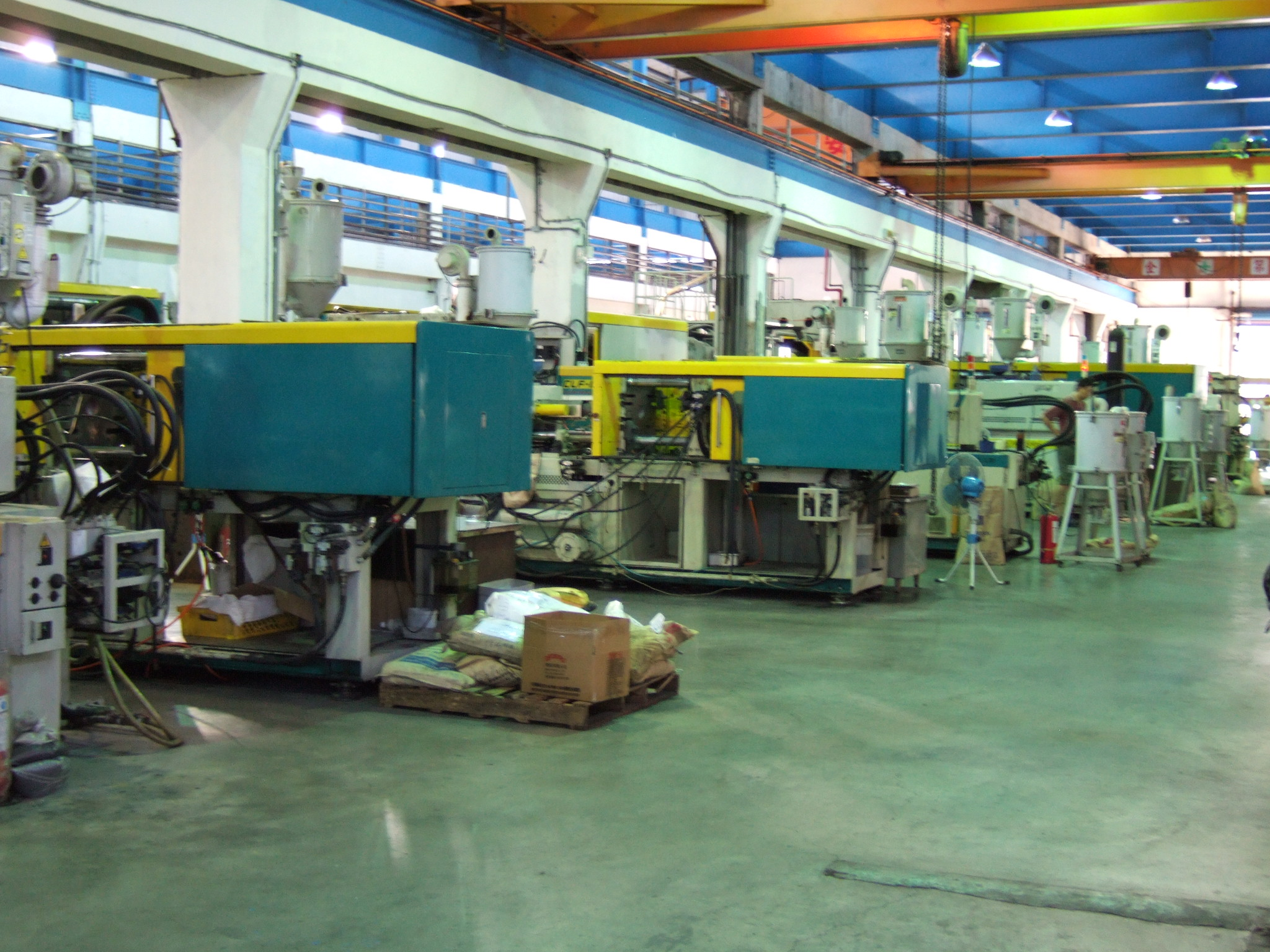 plastic moulding factory