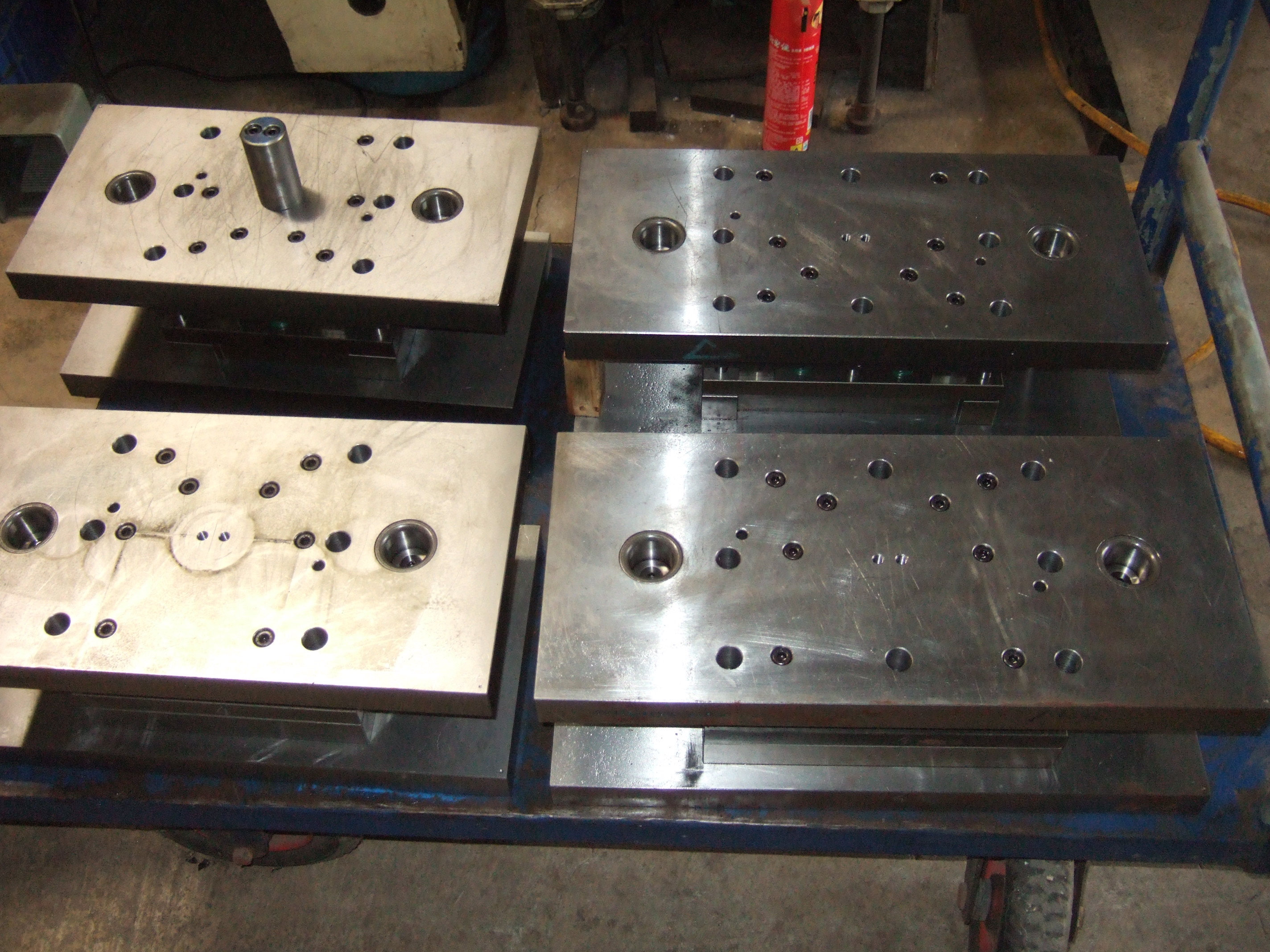 Making dies for stamping, bending & punching project need !