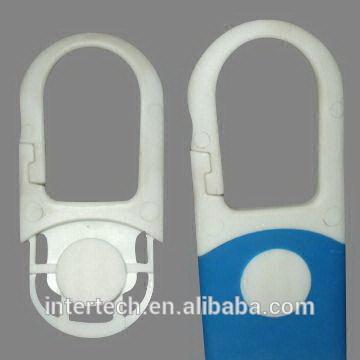 White Blue elastomer plastic molding