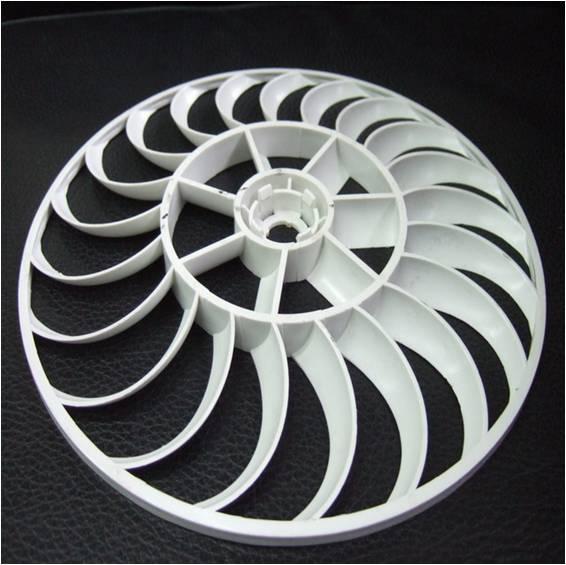 Plastic fan mould