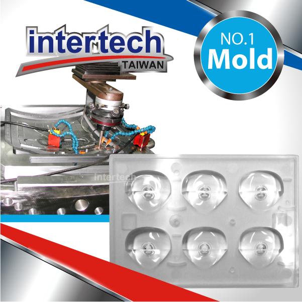 module led moulding
