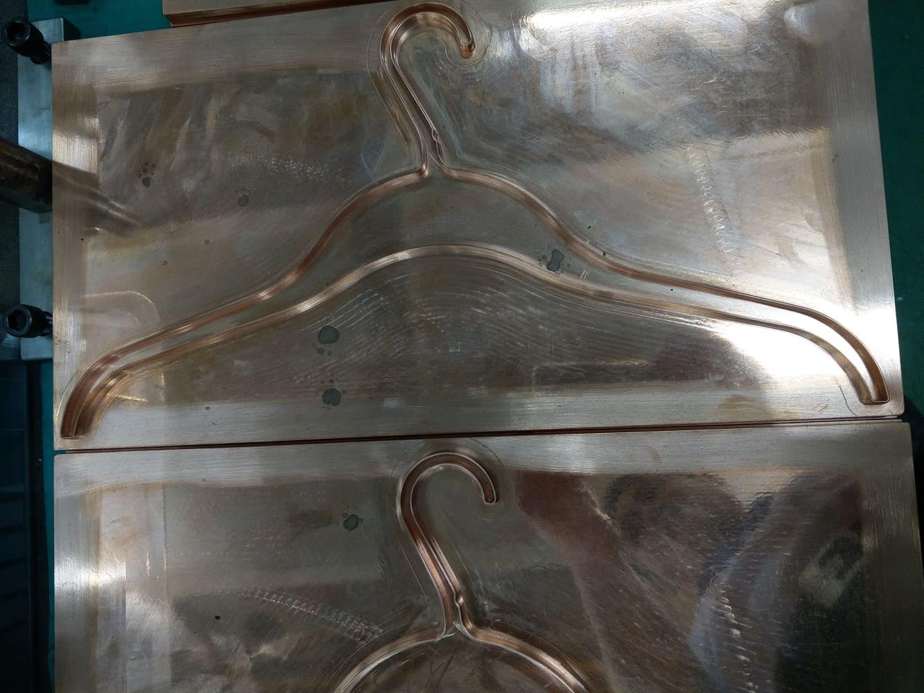 Plastic hanger mold