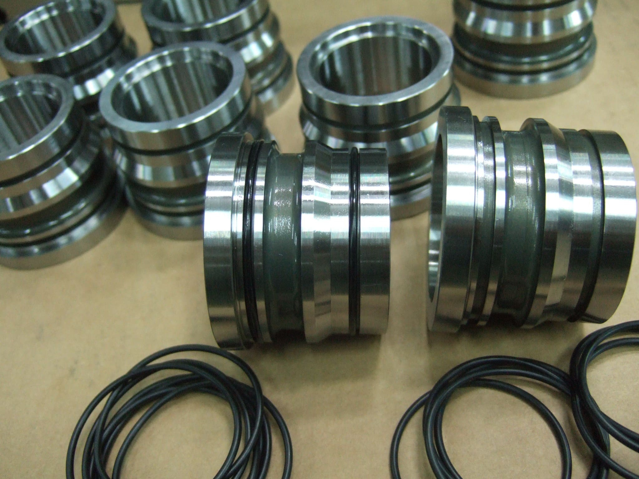 H-13 Heat treatment steel made mold parts