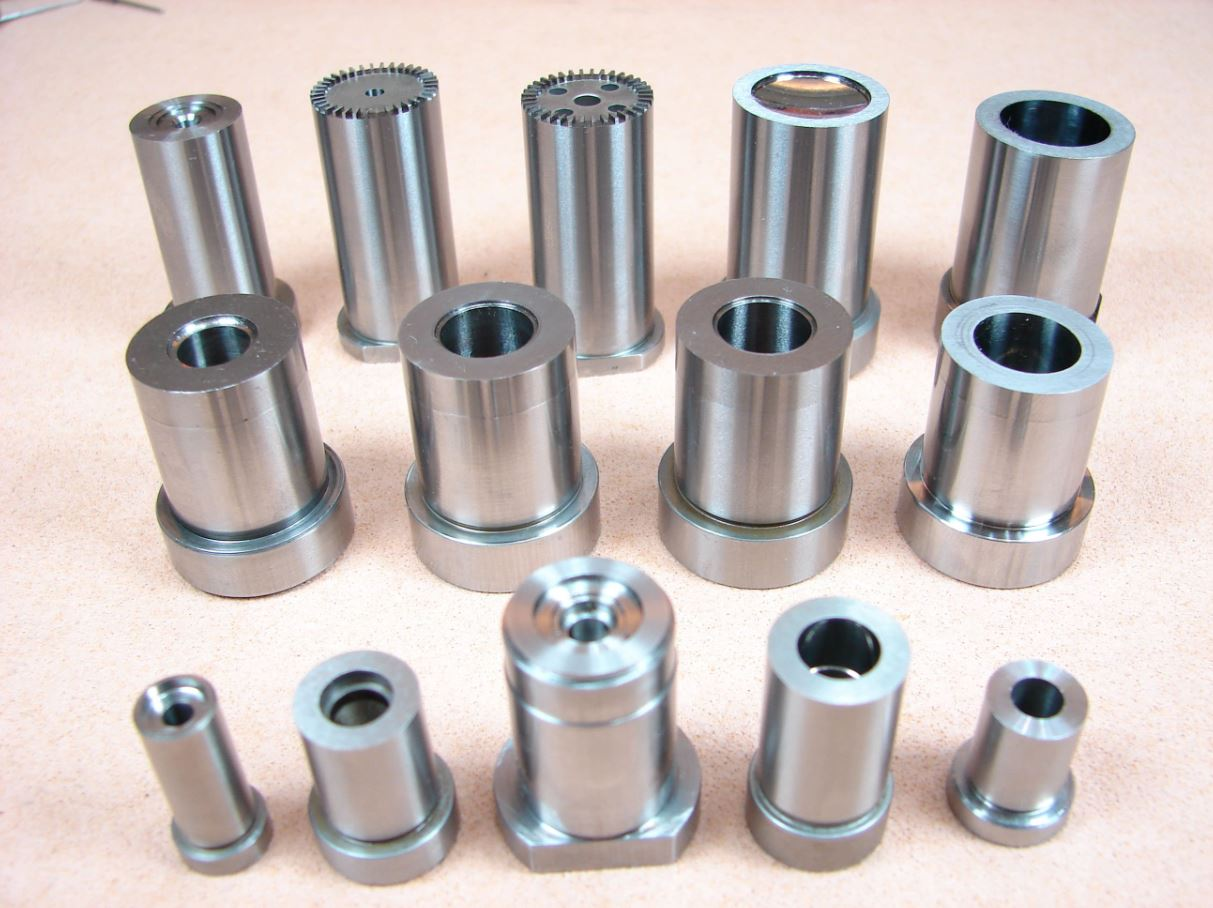 Stainless steel mold parts manufacturer