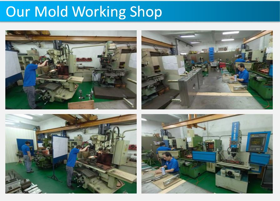 Our mold working shop